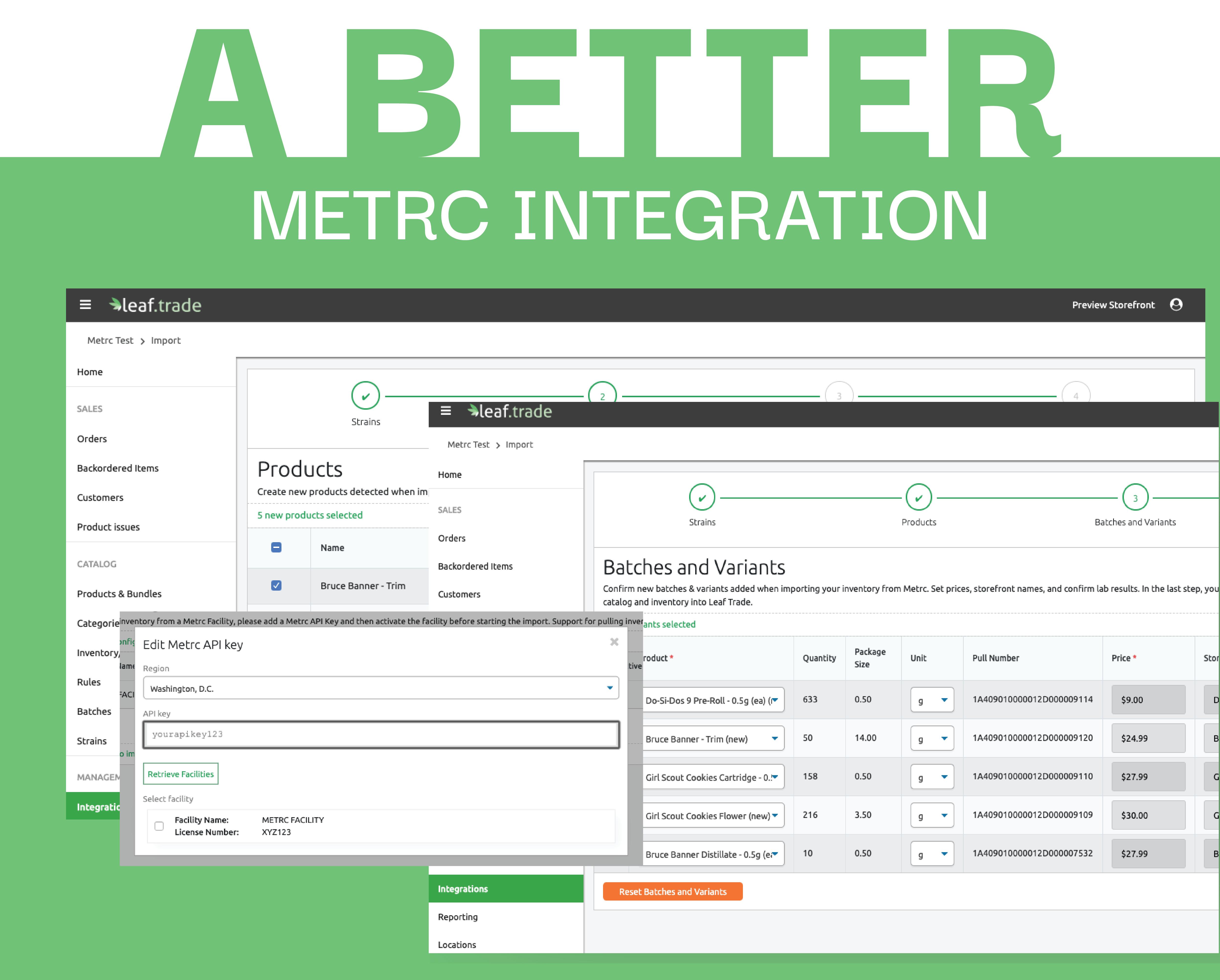 Metrc Integration Revised